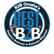 B2B Omaha Magazine Best of B2B Winner - Three Years in a Row!